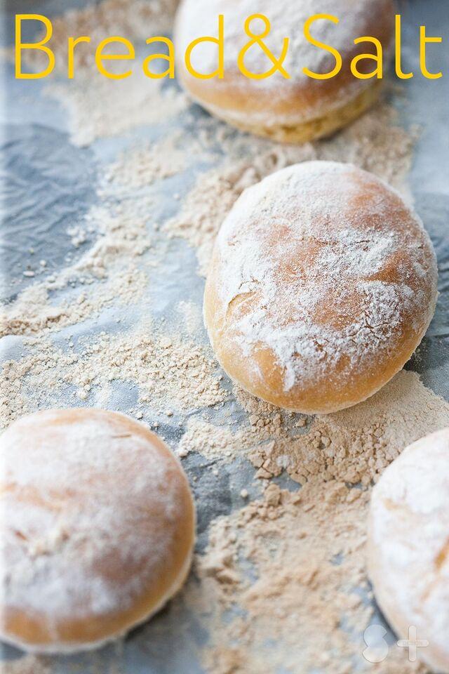 Постановочная фотосъемка булочек для журнала Хлеб Соль