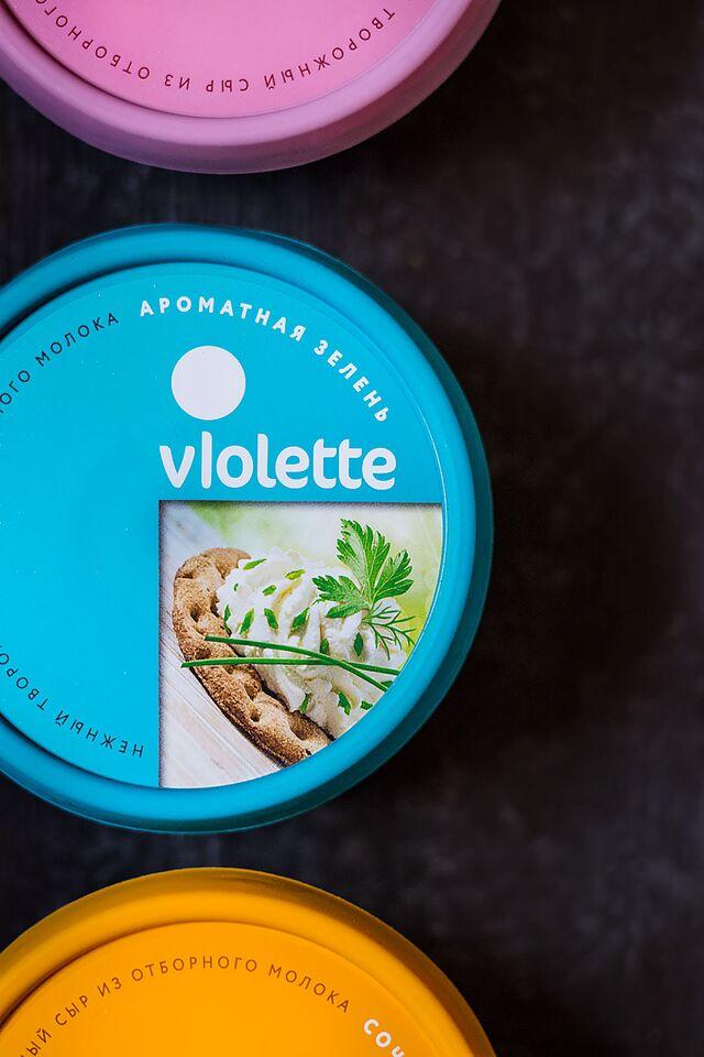 Рекламная фотосъемка сыра Violette. Фуд-стилист и фотограф Слава Поздняков