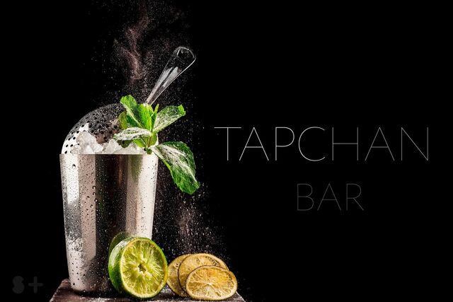 Рекламная фотосъемка напитков для меню ресторана ТАПЧАН