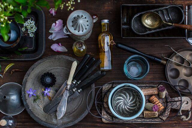 Фотосъемка композиции реквизит для книги Кухня. Разработка, подбор, изготовление реквизита Слава Поздняков
