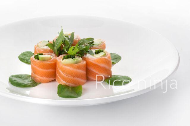 Фотосъемка роллов для меню ресторана Рисовый Ниндзя