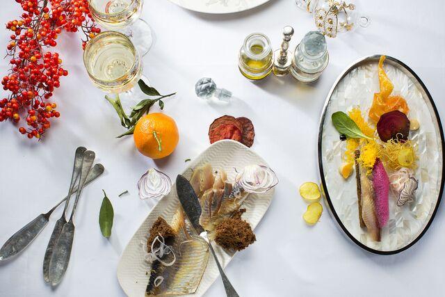 Создание и изготовление реквизита для фотосъемки новогоднего меню  ресторнана. Food Hunter Magazine