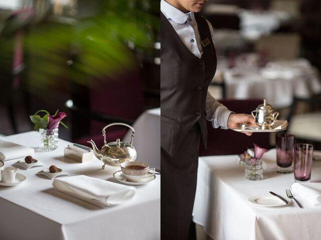 Фотосъемка деталей в интерьере ресторана «Метрополь»