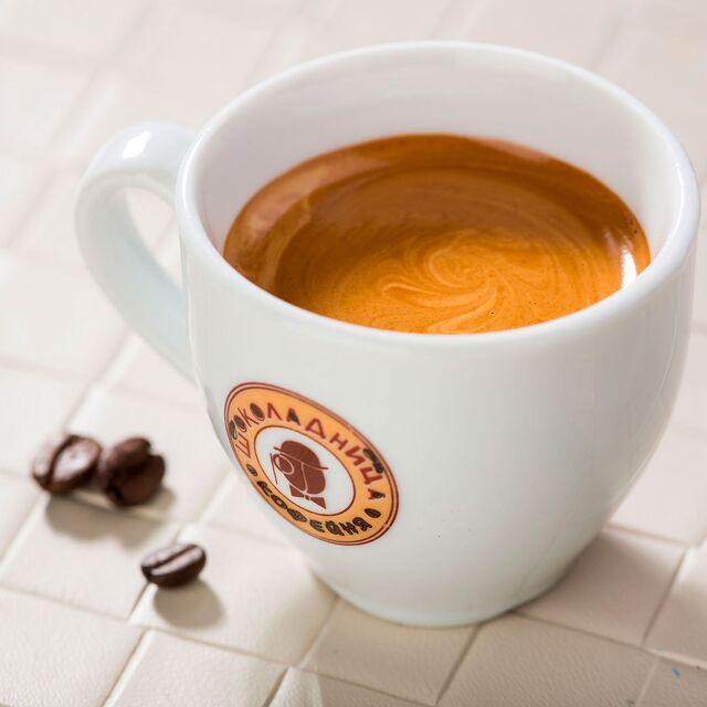 Фотосъемка кофе американо для Шоколадница. Фуд фотограф Слава Поздняков