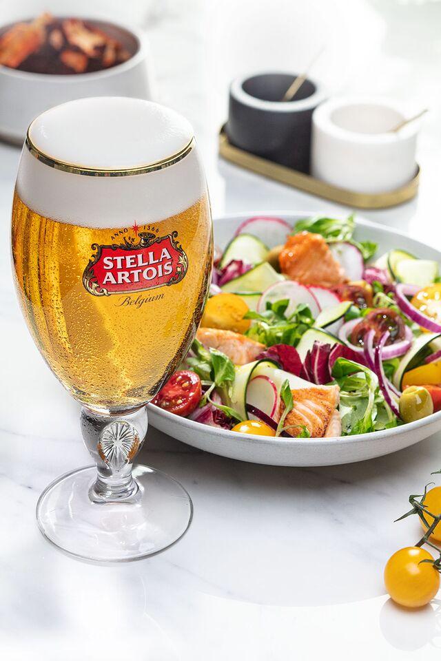 Stella Artois. Фотосъемка пива для ABInBev. Приготовление блюд, фуд-стайлинг,компановка, фотосъемка. Шеф-повар, фуд-стилист, фотограф Слава Поздняков.