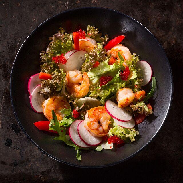 Фотосъемка блюд с морепродуктами для ресторана Тапчан