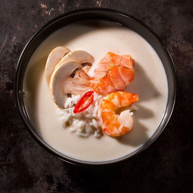 Фотосъемка супа для меню ресторана Тапчан