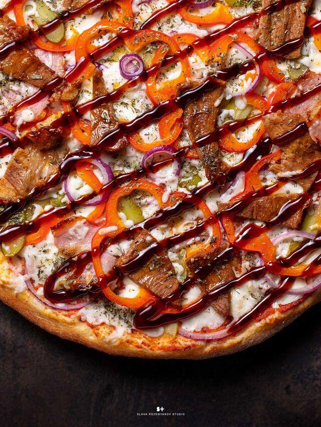 Фотосъёмка пиццы. Фотосъёмка блюд. Фотосъемка для меню. Фотосъёмка композиций блюд. Фуд-стилист, фотограф Слава Поздняков.