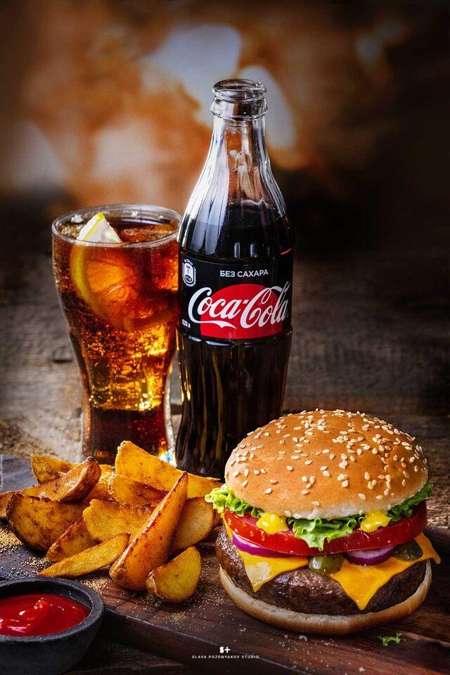 Рекламная фотосъёмка напитков, коктейлей, Бургера, Cola. Фотосъемка для меню. Фотосъёмка композиций напитков. . Фуд-стилист, фотограф Слава Поздняков.