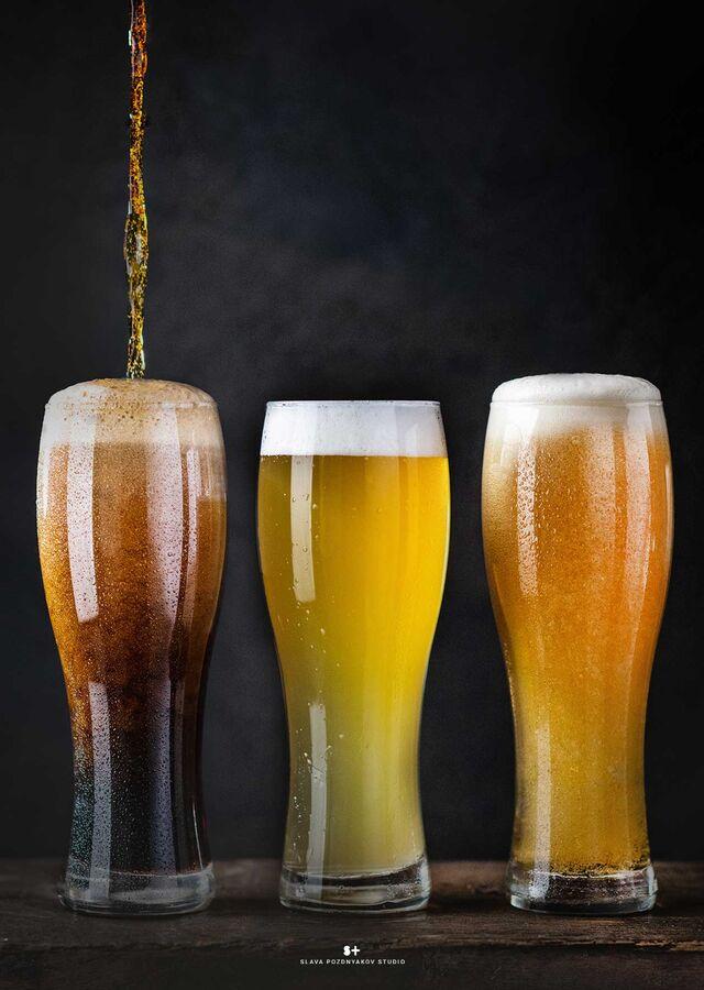 Рекламная фотосъёмка напитков, пива. Фотосъемка для меню. Фотосъёмка композиций напитков. . Фуд-стилист, фотограф Слава Поздняков.