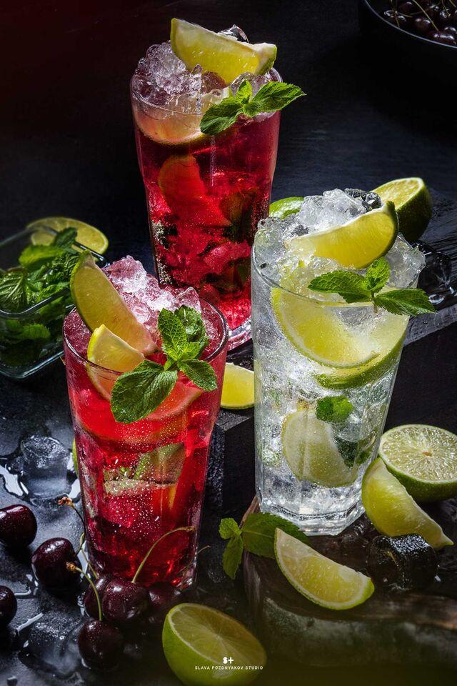 Рекламная фотосъёмка напитков, коктейлей. Фотосъемка для меню. Фотосъёмка композиций напитков. . Фуд-стилист, фотограф Слава Поздняков.