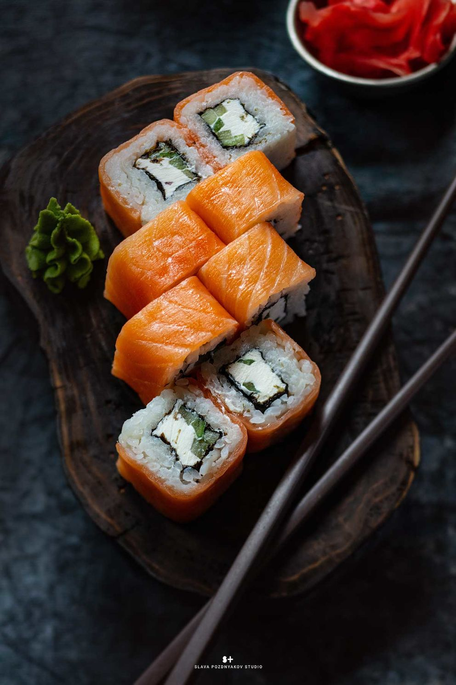 Фотосъёмка блюд. Фотосъёмка суши, роллов. Фотосъемка для меню. Фотосъёмка композиций блюд. Фуд-стилист, фотограф Слава Поздняков.