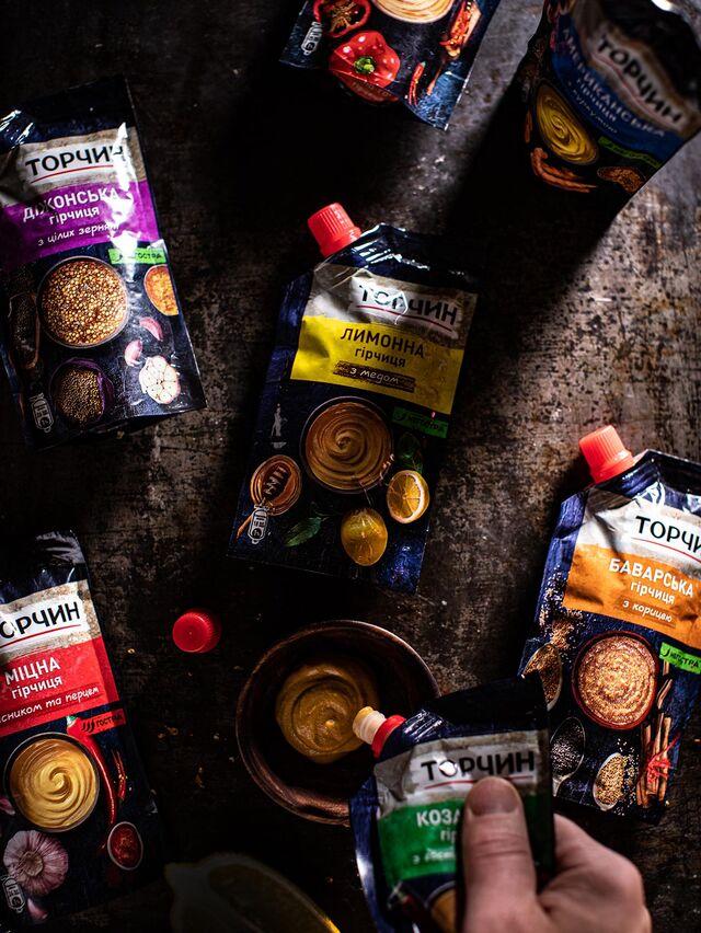 Фотосъемка горчицы на упаковку. ТОРЧИН. Nestle. Приготовление блюд, фуд-стайлинг, компоновка, фотосъемка композиций. Фуд-стилист, фуд-фотограф Слава Поздняков.