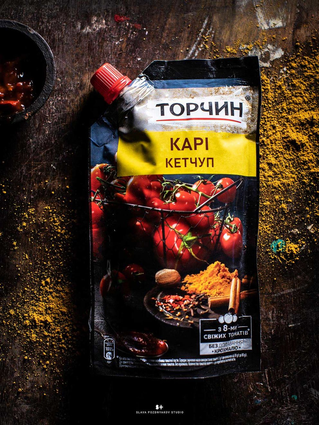 Фотосъемка кетчупа на упаковку. ТОРЧИН. Nestle. Приготовление блюд, фуд-стайлинг, компоновка, фотосъемка композиций. Фуд-стилист, фуд-фотограф Слава Поздняков.