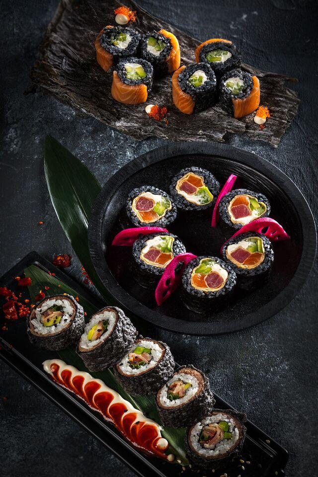 Фотосъемка суши, роллов. Фотосъемка сетов. Фуд-стилист, фотограф Слава Поздняков.