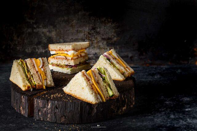 Фотосъемка сандвича ВАБИСАБИ. Фуд-стилист, фуд-фотограф Слава Поздняков.