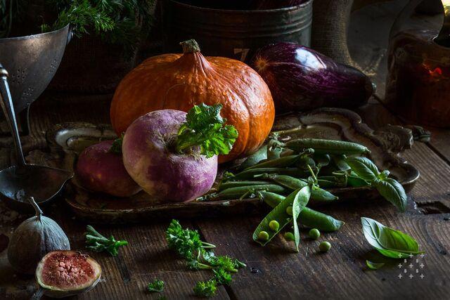 Фотосъемка овощей, тыквы. Фотограф, фуд-стилист Слава Поздняков.