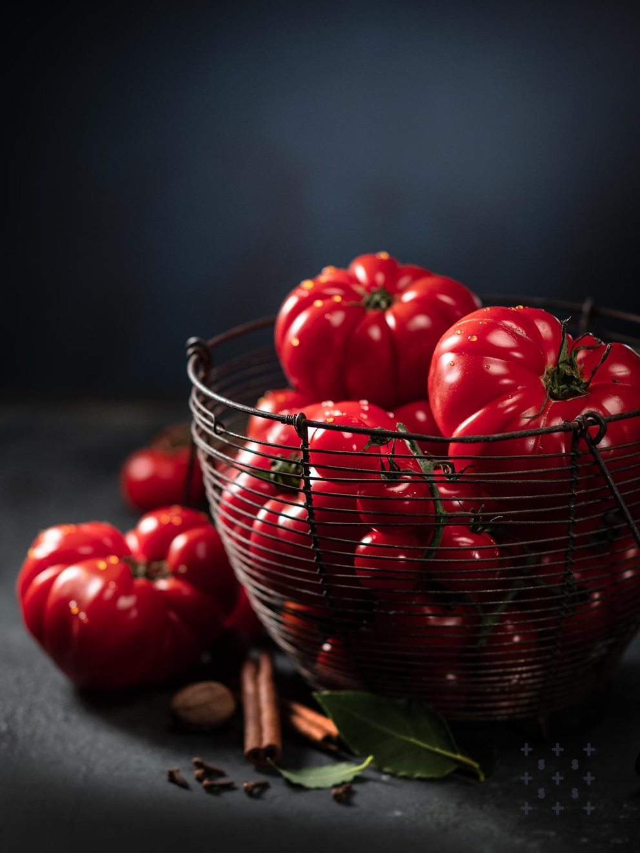 Фотосъемка овощей. Фотосъемка помидор. Фуд-стилист, фотограф Слава Поздняков.