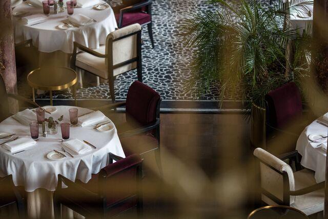 Фотосъемка ресторана «Метрополь» с верхнего ракурса