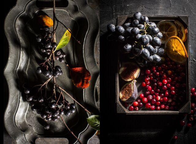 Фотосъемка ягод для проекта «Сезон охоты». Фуд-стилист Слава Поздняков