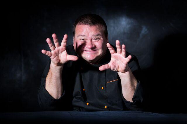 Шеф-повар Юрий Башмаков. Фотосъемка портрета для проекта Сезон Охоты