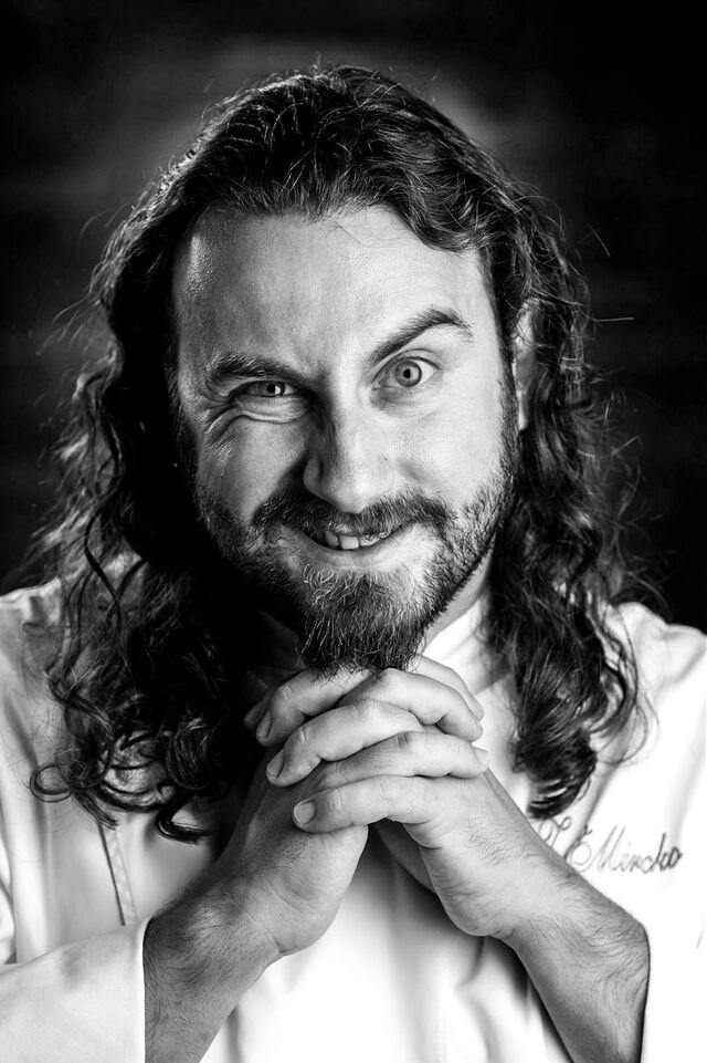 Фотосъемка портрета шеф-повара Zago Mirco